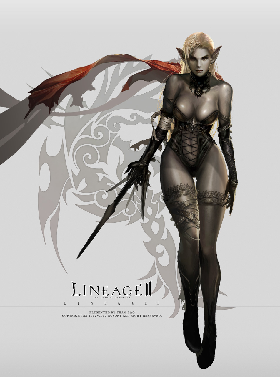 Lineage 2 porn dark elf naked movie